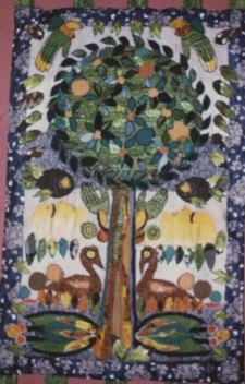 Levensboom wandkleed Ets Chaim