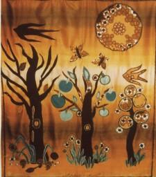 Memrnto Mori afgebeeld in de seizoenswisselingen van de natuur